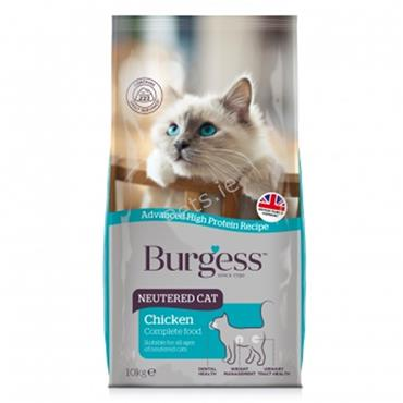 Burgess - Neutered Cat - Chicken - 1.5kg