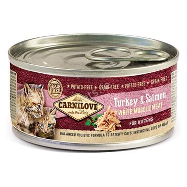 Carnilove Kitten Tin - Turkey & Salmon