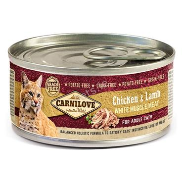 Carnilove Cat Tin - Chicken & Lamb