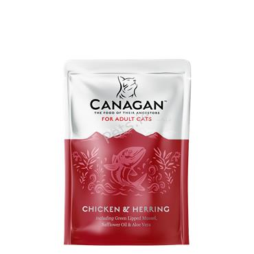 Canagan Cat Pouch - Chicken & Herring