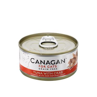 Canagan Cat Tin - Tuna With Crab