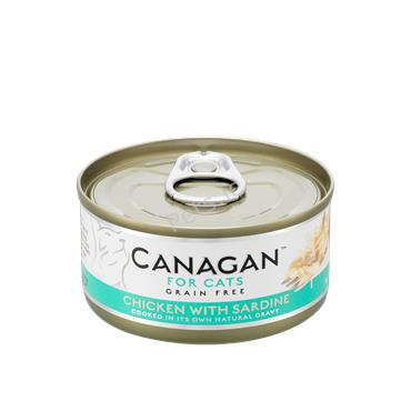 Canagan Cat Tin - Chicken With Sardine