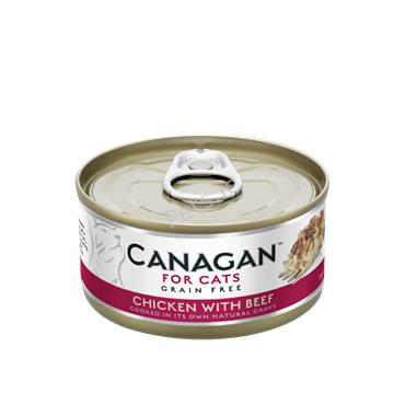 Canagan Cat Tin - Chicken With Beef