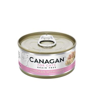 Canagan Cat Tin - Chicken With Ham