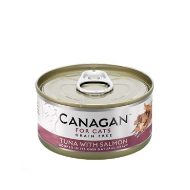Canagan Cat Tin - Tuna With Salmon