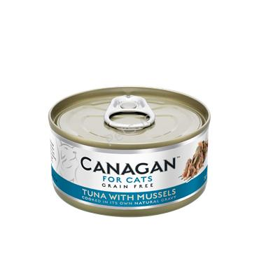 Canagan Cat Tin - Tuna With Mussels