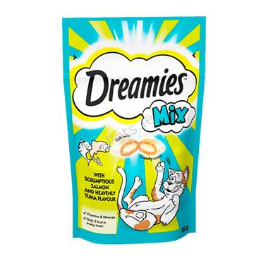 Dreamies Salmon & Tuna Mix - Cat Treats
