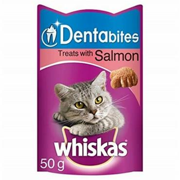 Whiskas Dentabites - Salmon - Cat Treats