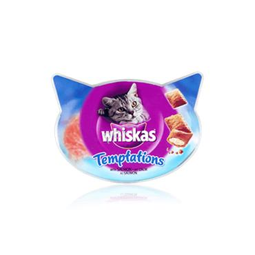 Temptation Salmon Cat Treats - 60g