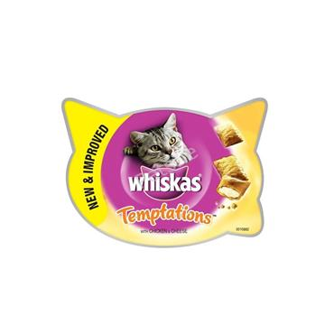 Whiskas Temptations - Chicken & Cheese - Cat Treats