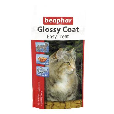 Glossy Coat Easy Treat Cat Treats - 35g