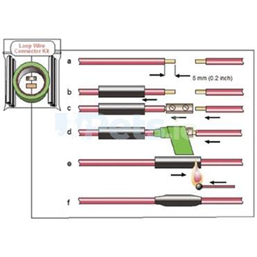 Dog Fence Loop Wire Connection Kit