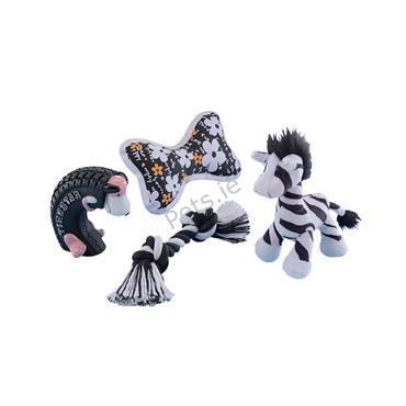 Puppy Starter Set - Black and White