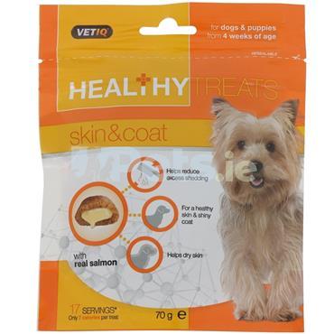 VetIQ - Skin & Coat - Healthy Treats - Puppy & Dog