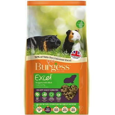 Excel Nuggets - Guinea Pig - 2kg