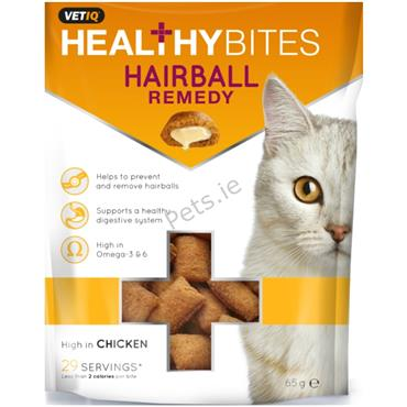 VetIQ - Anti Hairball - Healthy Bites - Kitten & Cat