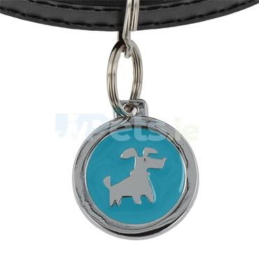 ID Tag Deluxe - Doggie - Light Blue