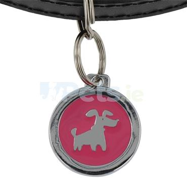 ID Tag Deluxe - Doggie - Pink