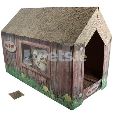 Cat Scratching House
