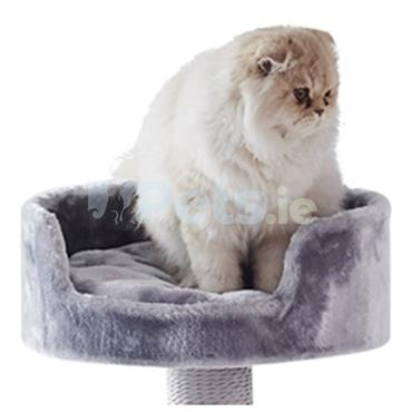 Cat Scratching Tree - Melo - Grey