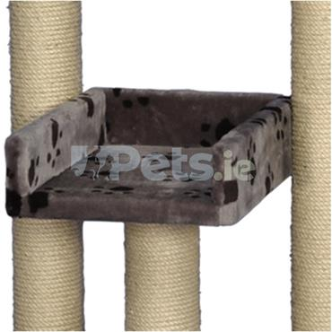 Cat Scratching Tree - Chita - Grey with Paws