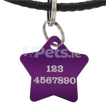ID Tag - Purple Star