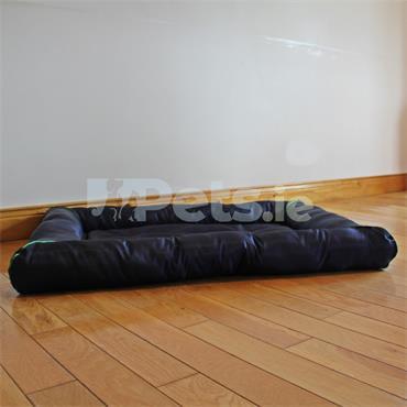 Navy & Lime - Waterproof Pet Bed