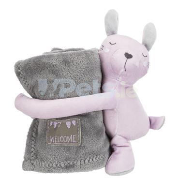 Puppy Cuddly Set - Grey/Lilac