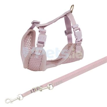 Puppy Soft Harness & Lead - Lilac