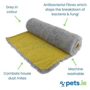 Super Gold Grey - Antibacterial Vet Bedding