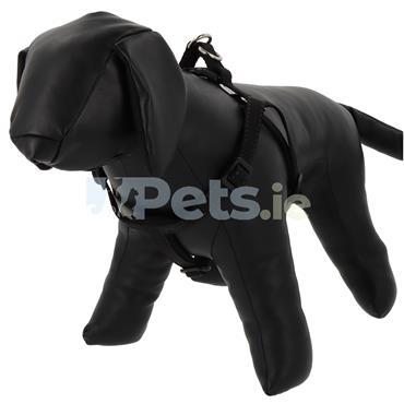Reflective Padded Dog Harness Black