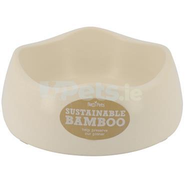 Beco Bamboo Dog Bowl - Natural