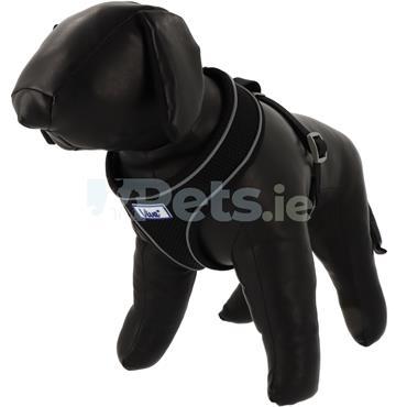 Comfort Mesh Dog Harness Black