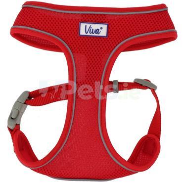 Comfort Mesh Dog Harness Red