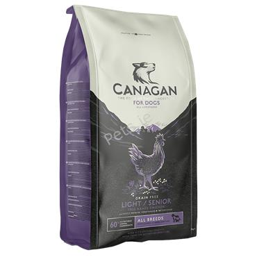 Canagan Dog - Free Range Chicken - Senior/Light