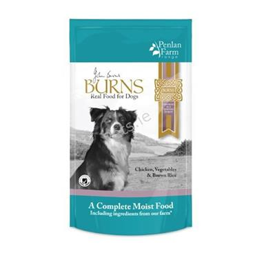 Burns Pouches - Penlan Chicken, Vegetables & Brown Rice