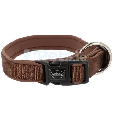 Classic Preno - Dog Collar - Brown/Brown