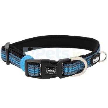 Kalea Reflective - Dog Collar - Light Blue