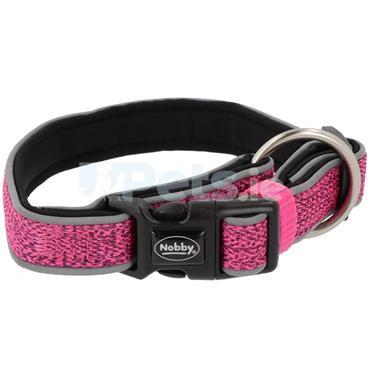 Cayo Reflective - Dog Collar - Pink
