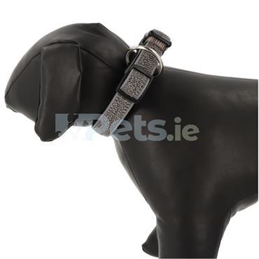 Cayo Reflective - Dog Collar - Grey