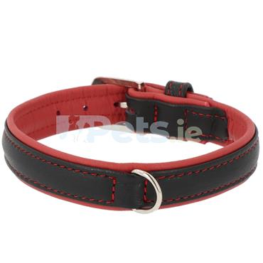 Pacific - Leather Dog Collar - Red