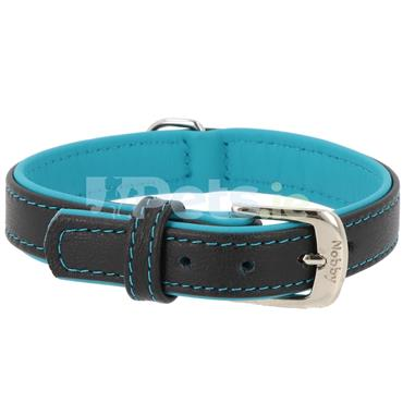 Pacific - Leather Dog Collar - Turquoise