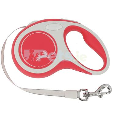 Flexi New Comfort - Tape Lead - Red