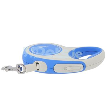 Flexi New Comfort - Tape Lead - Blue