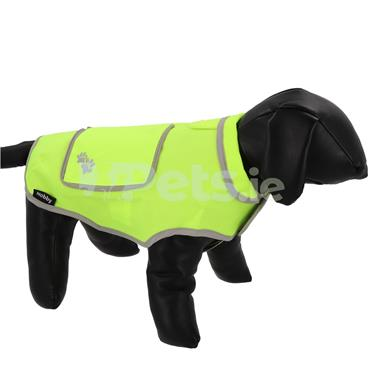 Dog Coat - Neon Yellow