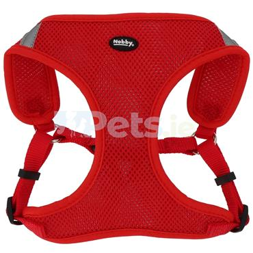 Reflective Mesh Harness - Red