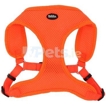 Reflective Mesh Harness - Neon Orange
