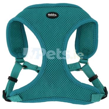 Reflective Mesh Harness - Turquoise