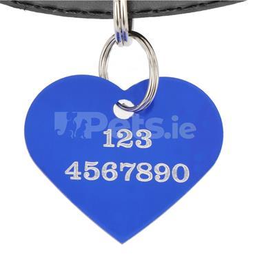 ID Tag - Blue Heart