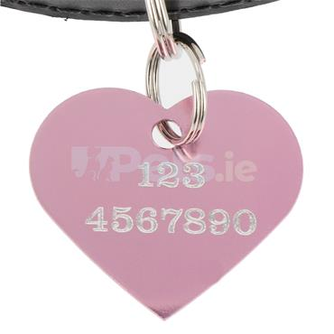 ID Tag - Pink Heart
